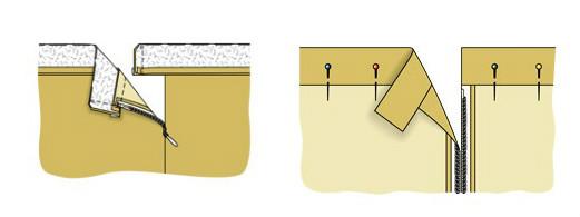 Пришить пояс на юбку карандаш
