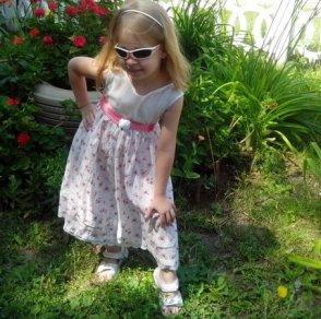 Как сшить платье для девочки своими руками для начинающих без выкройки 2
