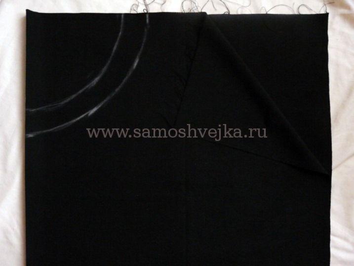 Как сшить юбку полусолнце с поясом