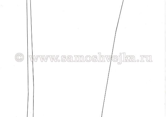 выкройка брюк лист 3