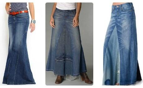 выкройка джинсов пошив из старых юбки
