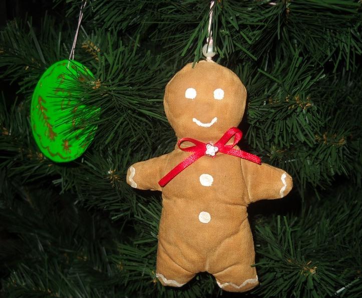 Как сшить новогоднюю игрушку на елку своими