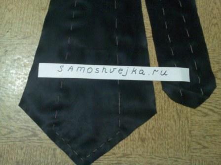 сшить детский галстук