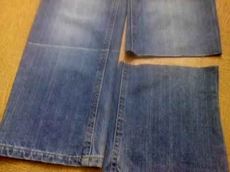 Из джинс капри своими руками 100