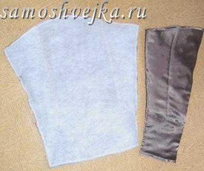 зшити рукава підкладки