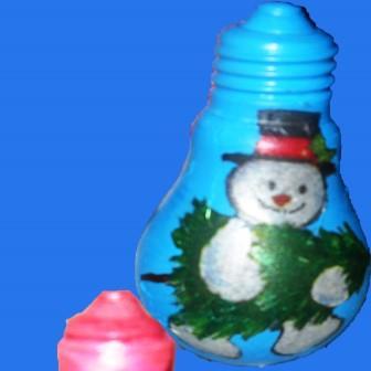 новогодние игрушки из лампочки