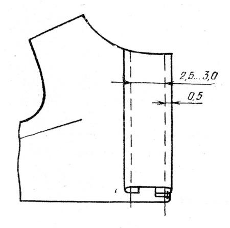 обработка планки в жакете