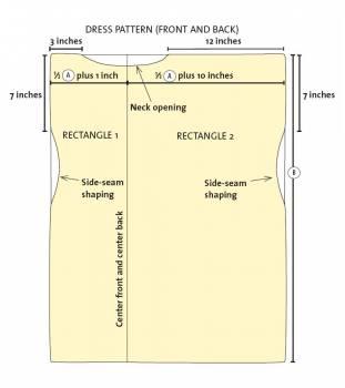 Как сделать выкройку для топика фото 493