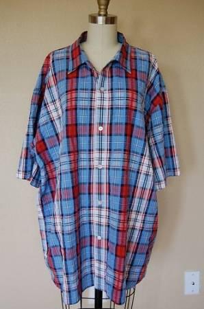 Перешиваем мужскую рубашку в женское платье