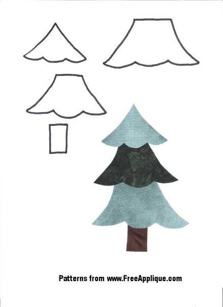 Как сделать елочку из дождика своими руками