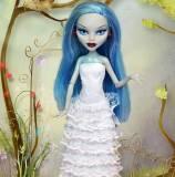 Свадебное платье для куклы своими руками
